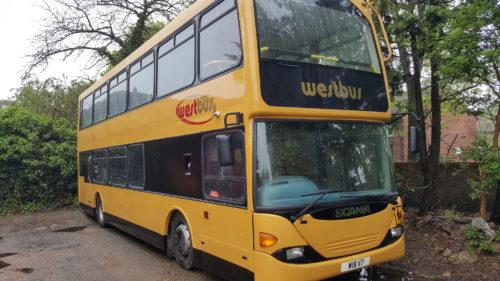 Westbus Coach Style Double Decker Exterior