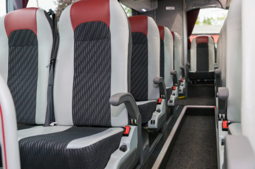 Westbus Executive Coach Rear Seats