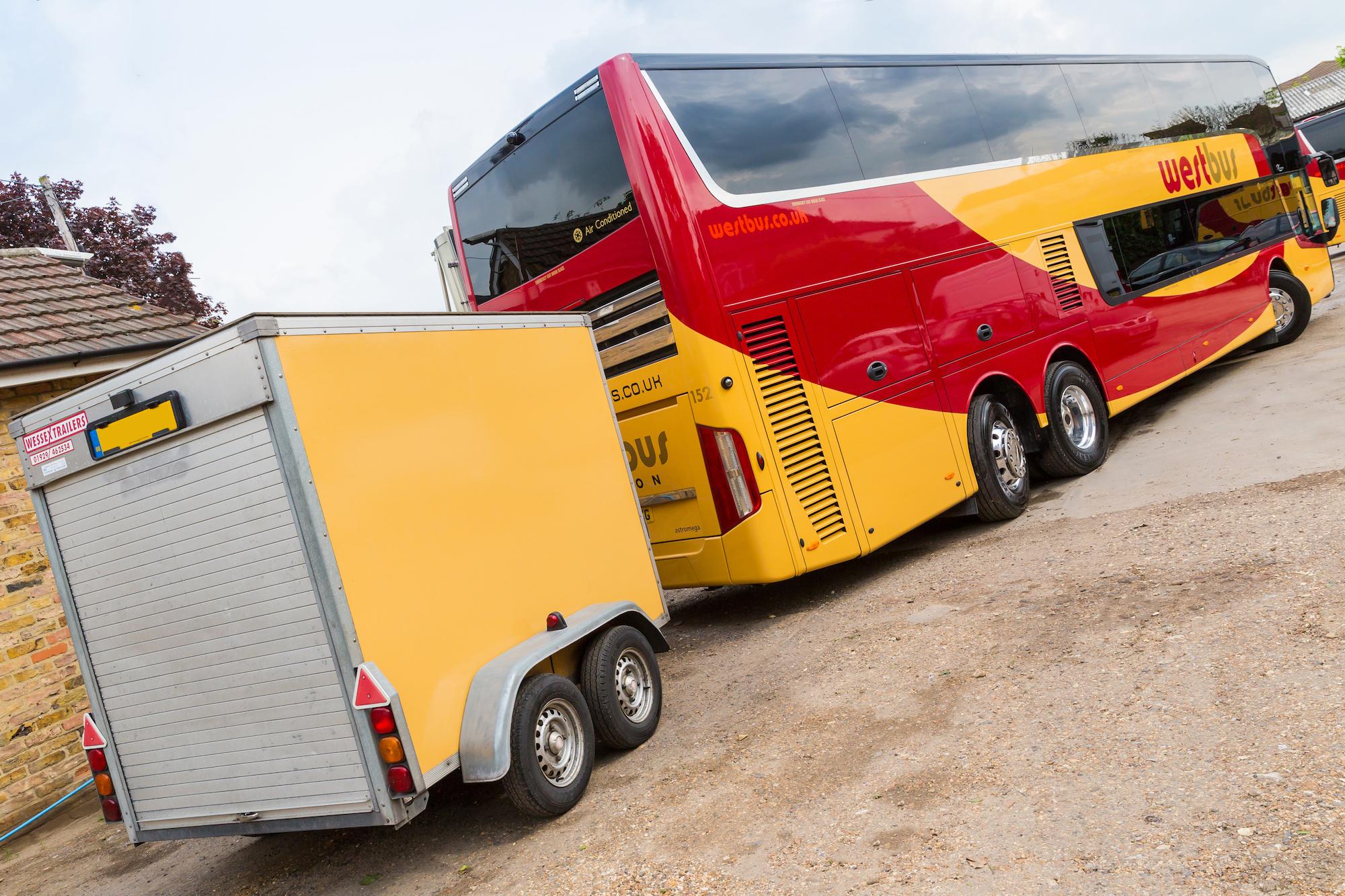 Westbus Executive Double Decker Rear