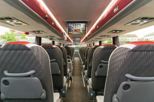 Westbus Executive Double Decker Seat Aisle From Rear