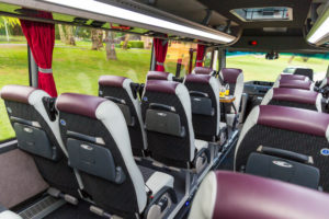 Westbus Mini Coach Interior Front